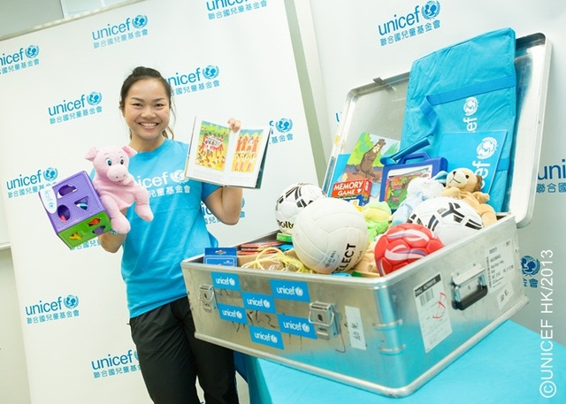 Unicef will establish three child friendly spaces for yaan renowned cyclist mr wong kam po unicef hk ambassador showed his compassion to victims in yaan i wish the emergency relief goes well and i believe there sciox Choice Image