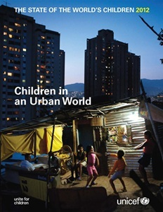State of the World's Children 2012 cover. English.