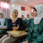 Muzoon Almellehan returns to Jordan to meet Syrian refugees striving to get an education