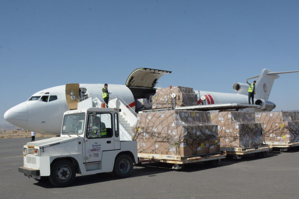 On 25 November 2017, a shipment of vaccines is delivered to the Sana'a International airport, bringing in15 tonnes of BCG, Penta and PCV vaccine supplies to protect Yemeni children from diseases such as diphtheria and tetanus.