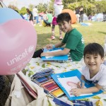 UNICEF HK Little Artists Big Dreams Drawing Competition 2017 Near 1,000 children and Chow Tai Fook Jewellery raised around HK$1 million to improve maternal and child health services in rural China
