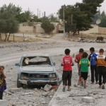 More than 40,000 children in the line of fire in Ar-Raqqa, Syria, as fighting intensifies